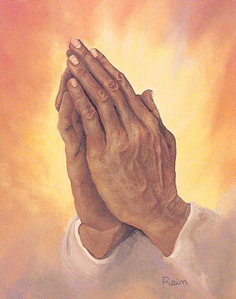 Prière avant le Diner